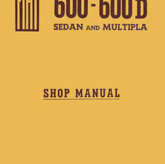 Fiat 600-600D Shop Manual