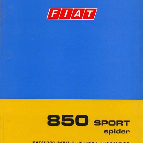 Fiat 850 Parts Manual