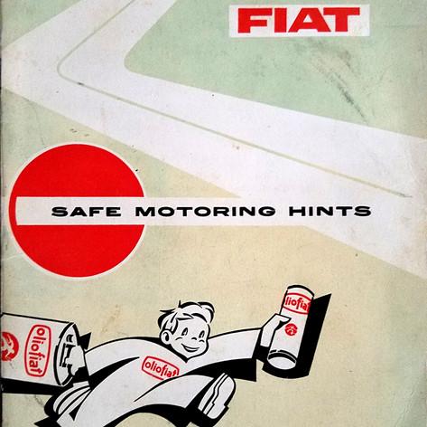 Fiat Safe Motoring Hints