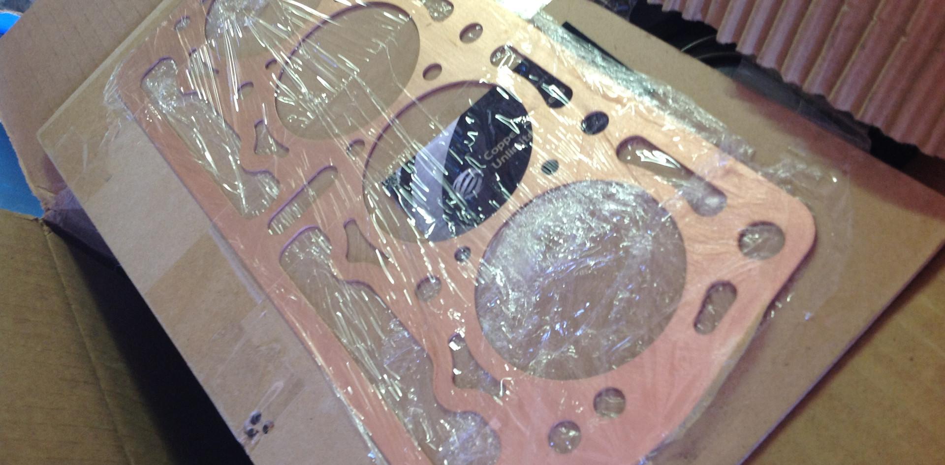 Custom Solid Copper Head Gasket