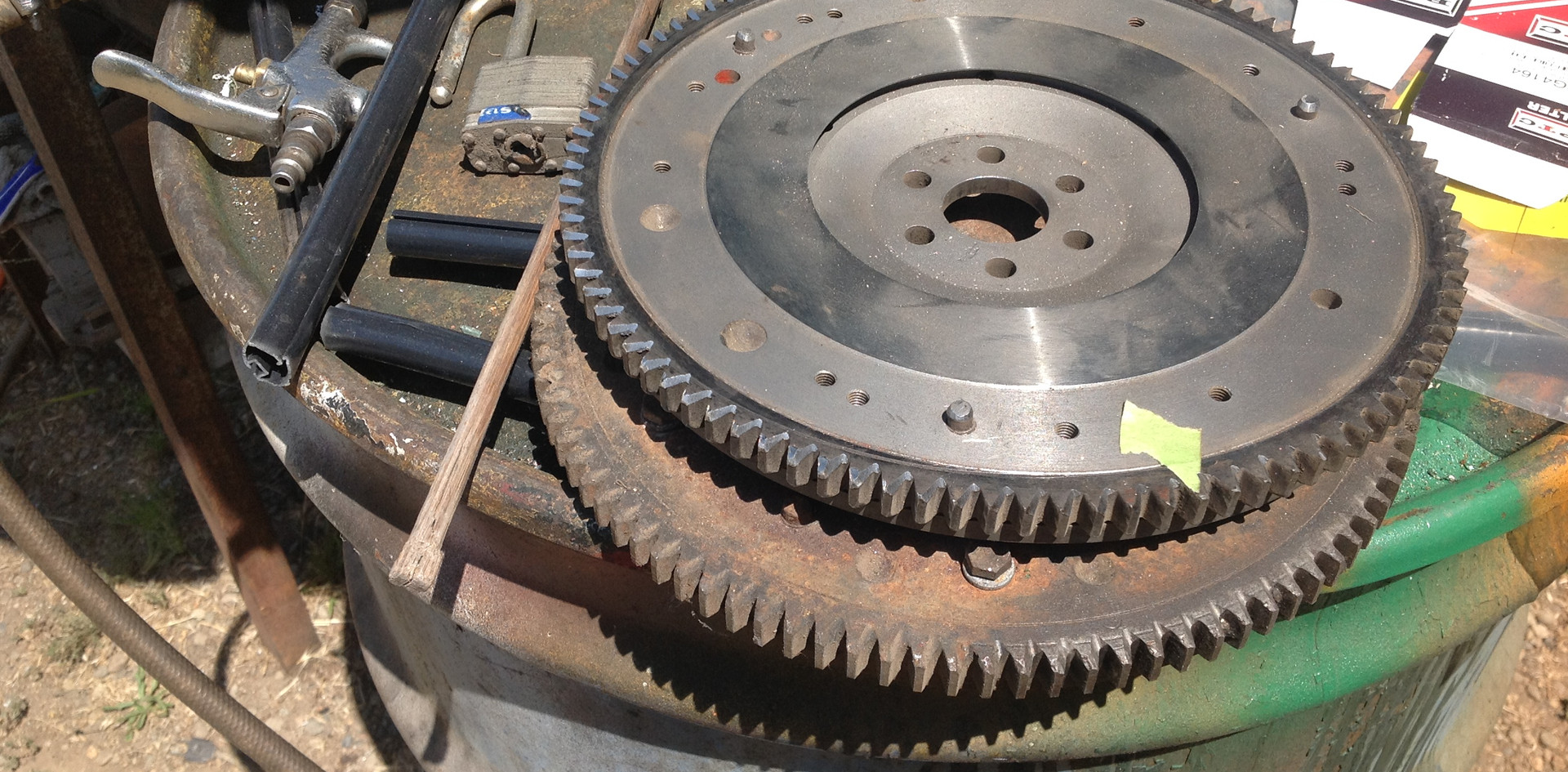 Flywheel & Ring Gear