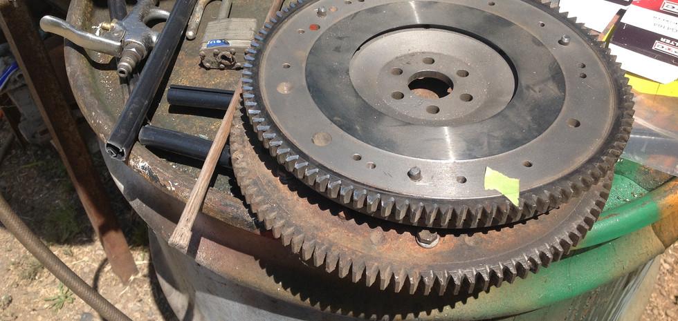 Flywheel & Ring Gear