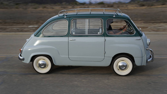 We Drive the Fiat Multipla of Our Dreams!