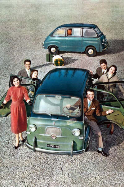 Fiat Multipla, No Laughing Matter.