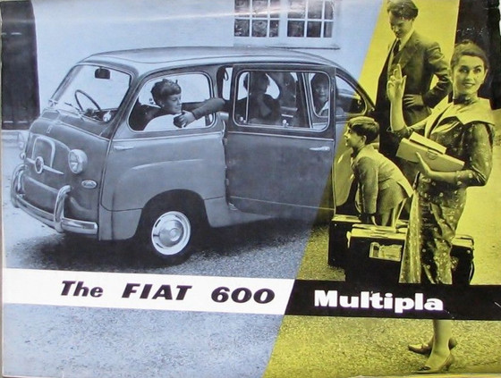 The Fiat 600 Multipla – The Pioneer People Carrier