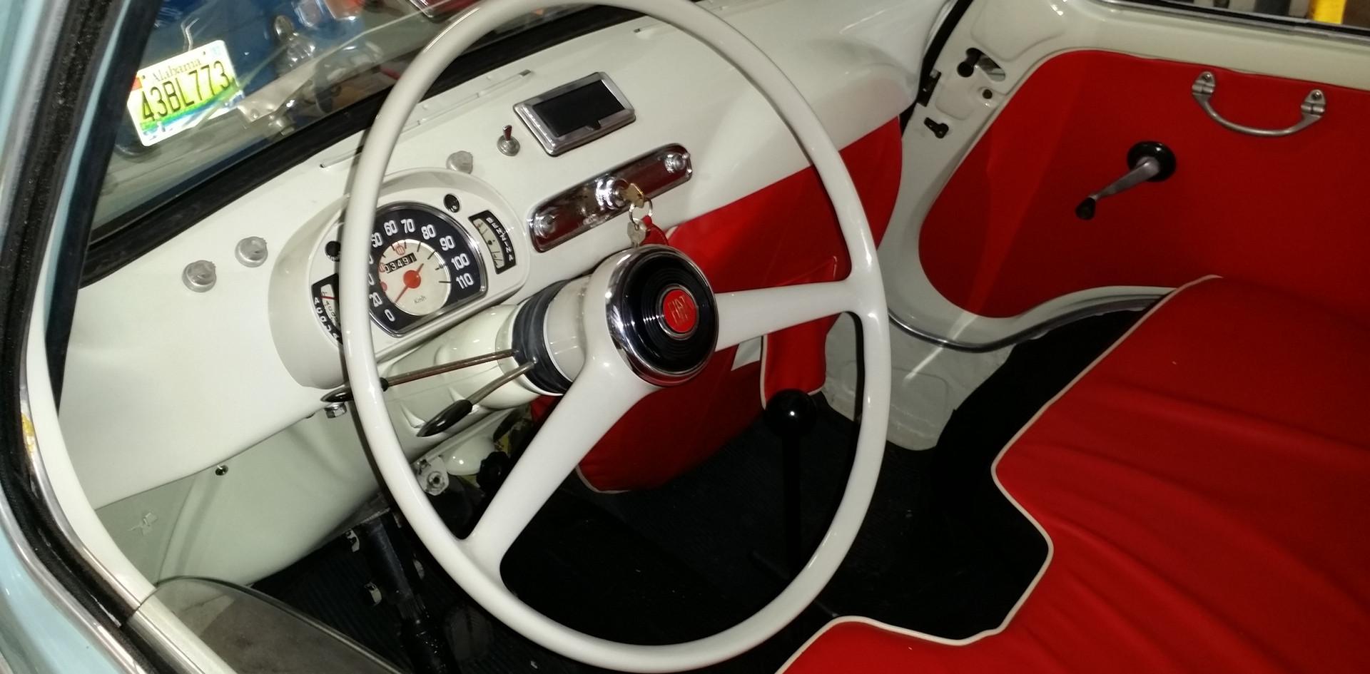 Restored Steering Wheel