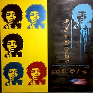 jimmy hendrix pop art