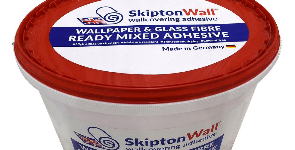 SkiptonWall Ready Mixed Wallpaper Adhesive - 10kg