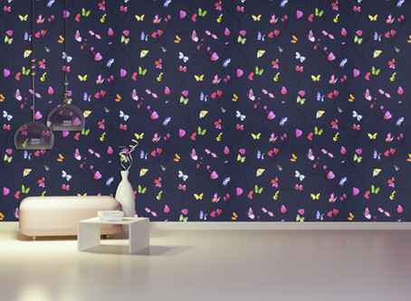 Five surprising ways to add colour to your home with wallpaper