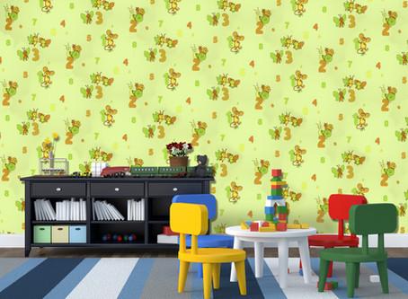 Wallpaper tips for children's bedrooms