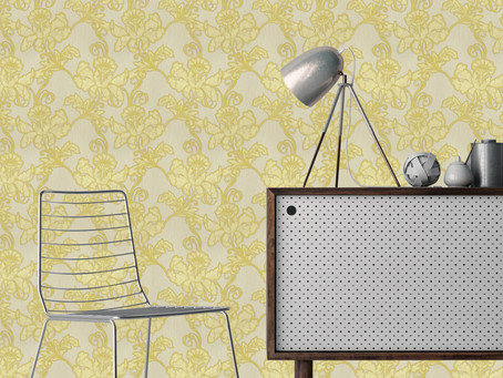 Stylish wallpaper designs for the modern home