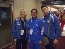 Con la leggenda della Muay Thai Pud Pad