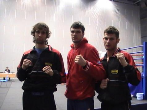 Con il Campione Levin Artem e il PRO Fig