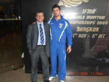 Con Mauro Bassetti (pres. FIMT).JPG
