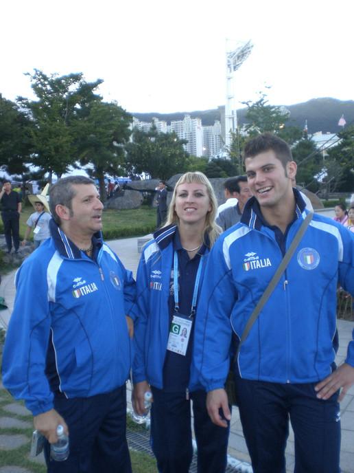 Con l'atleta professionista Patrizia Gib