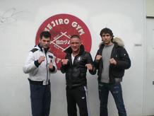 Con il Campione del K1 Andy Souwer e il
