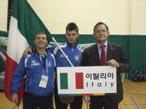 Con Davide Carlot (resp. IFMA Europa) e