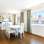 dining room for oceanfront apartment