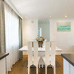dining room for luxury apartment