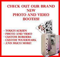 Crowd Control Entertainment Photo Booth Ad