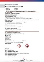 MSDS_Mineral Bond LV comp B_Website.png