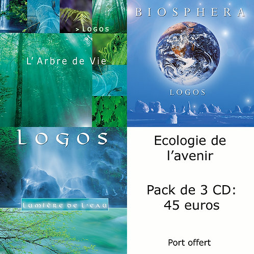 Pack 3 CD : Ecologie de l'avenir