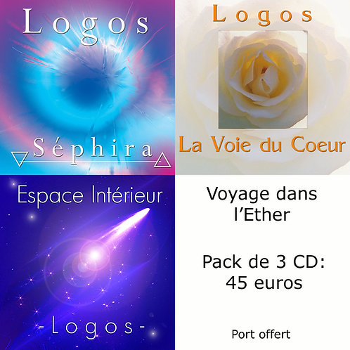 Pack 3 CD : Voyage dans l'Ether