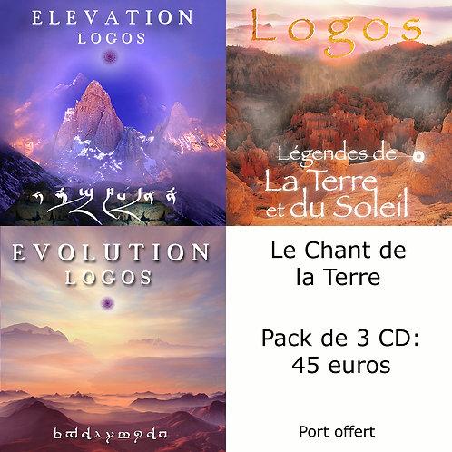 Pack 3 CD : Le Chant de la Terre