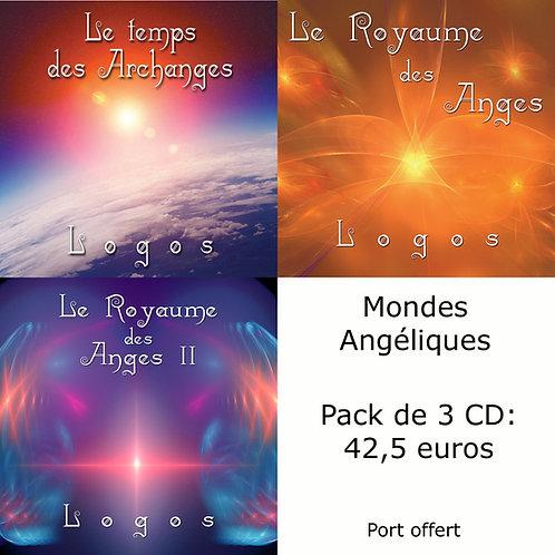 Pack 3 CD: Mondes angéliques