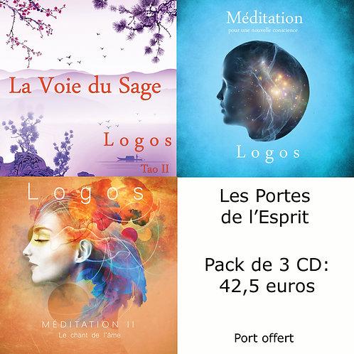 Packs 3 CD : Les Portes de l'Esprit