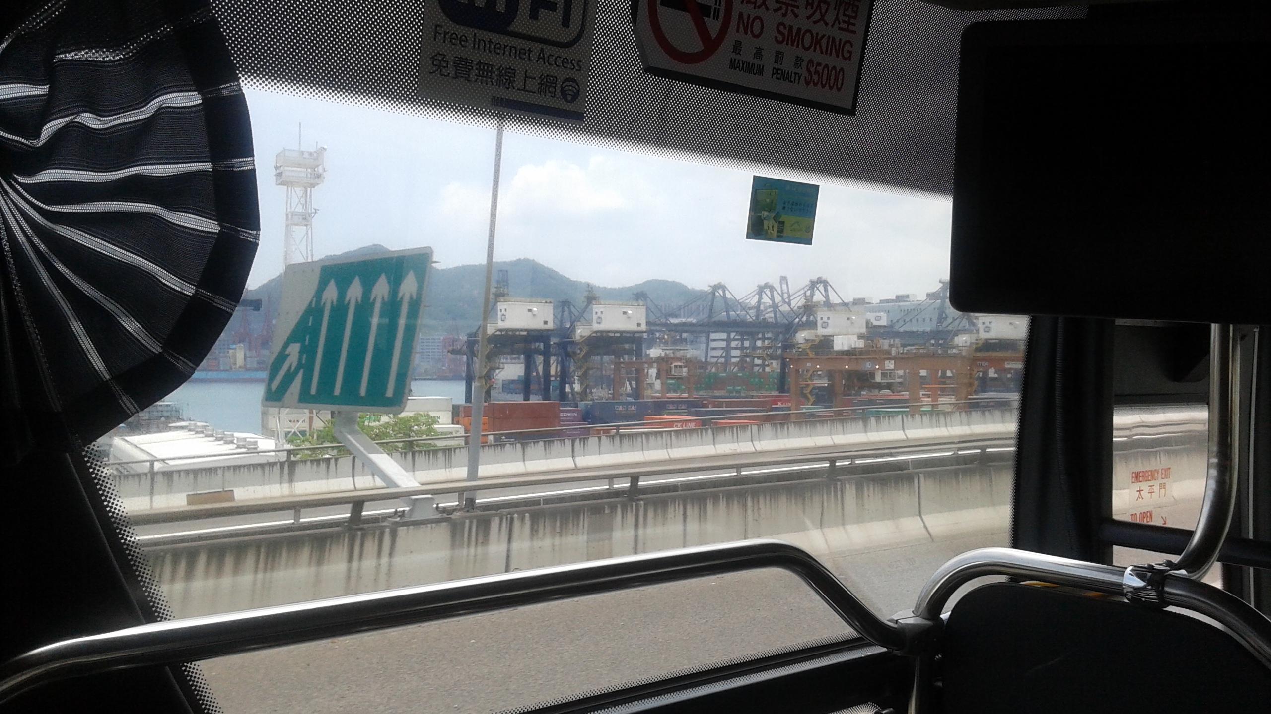 Hong Kong Harbor 8