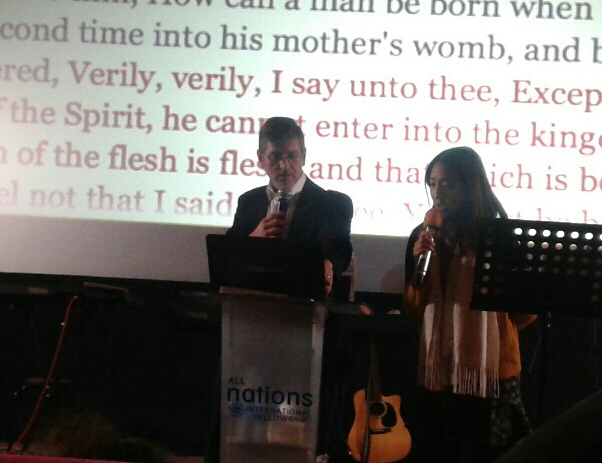 Teaching with Interpreter