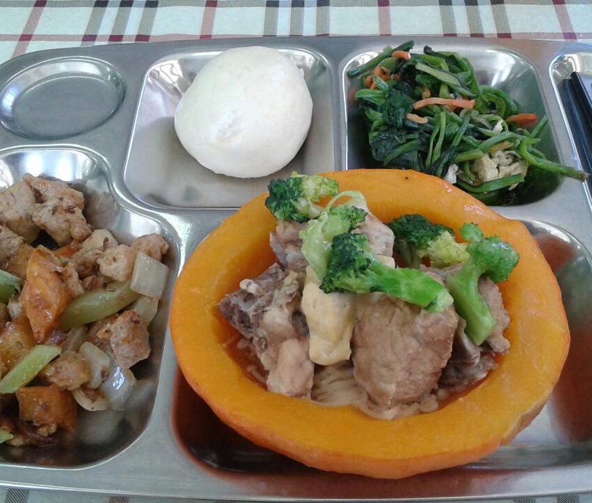 Sample School Lunch