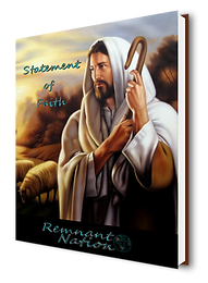 Remnnant Nation | Statement of Faith 3D Book
