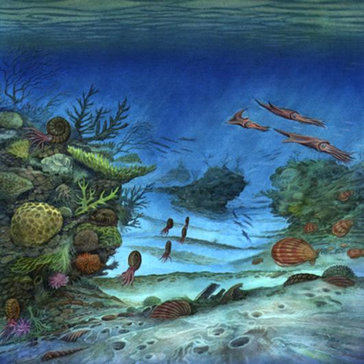 Jurrassic Seascape