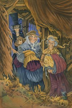 'Inside Old Joe's' from A Christmas Carol