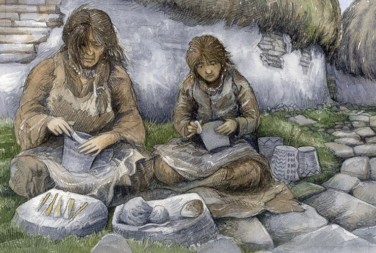 Skara Brae Pottery