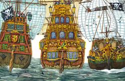 Pirate Ships Exterior