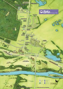 Boat Of Garten map
