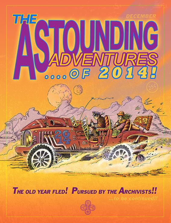 Astounding Xmas card 2014