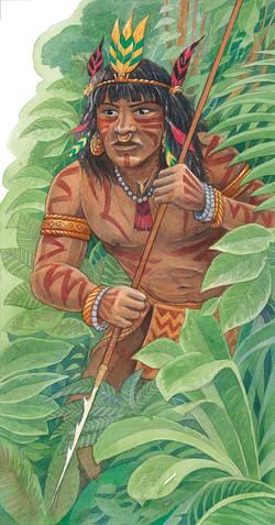Chibcha Tribesman