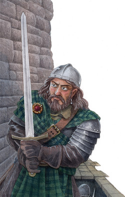 William Wallace at Dunnotar Castle