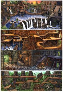Lagoon Book layers