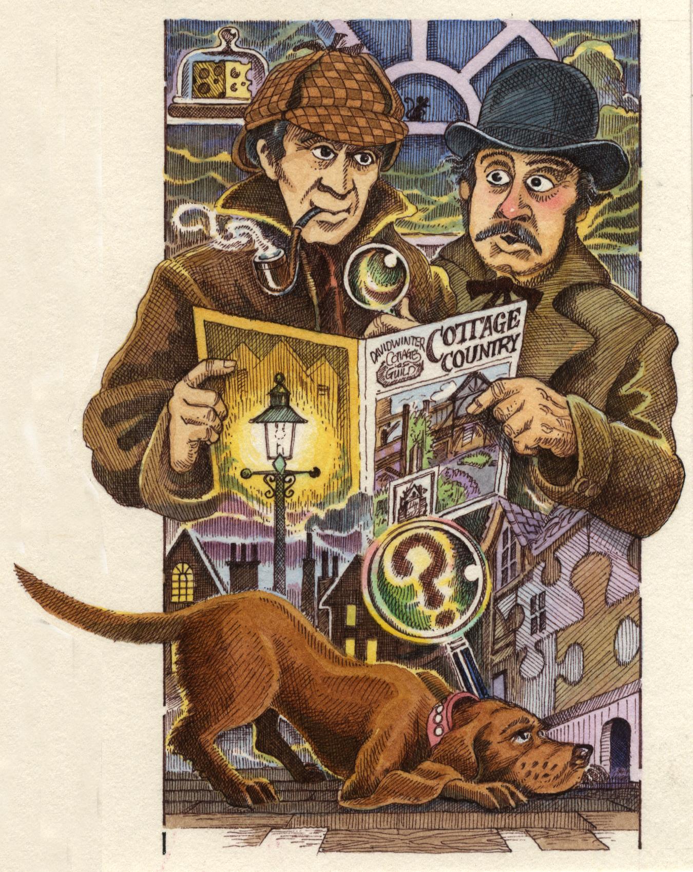 Sherlock Cartoon