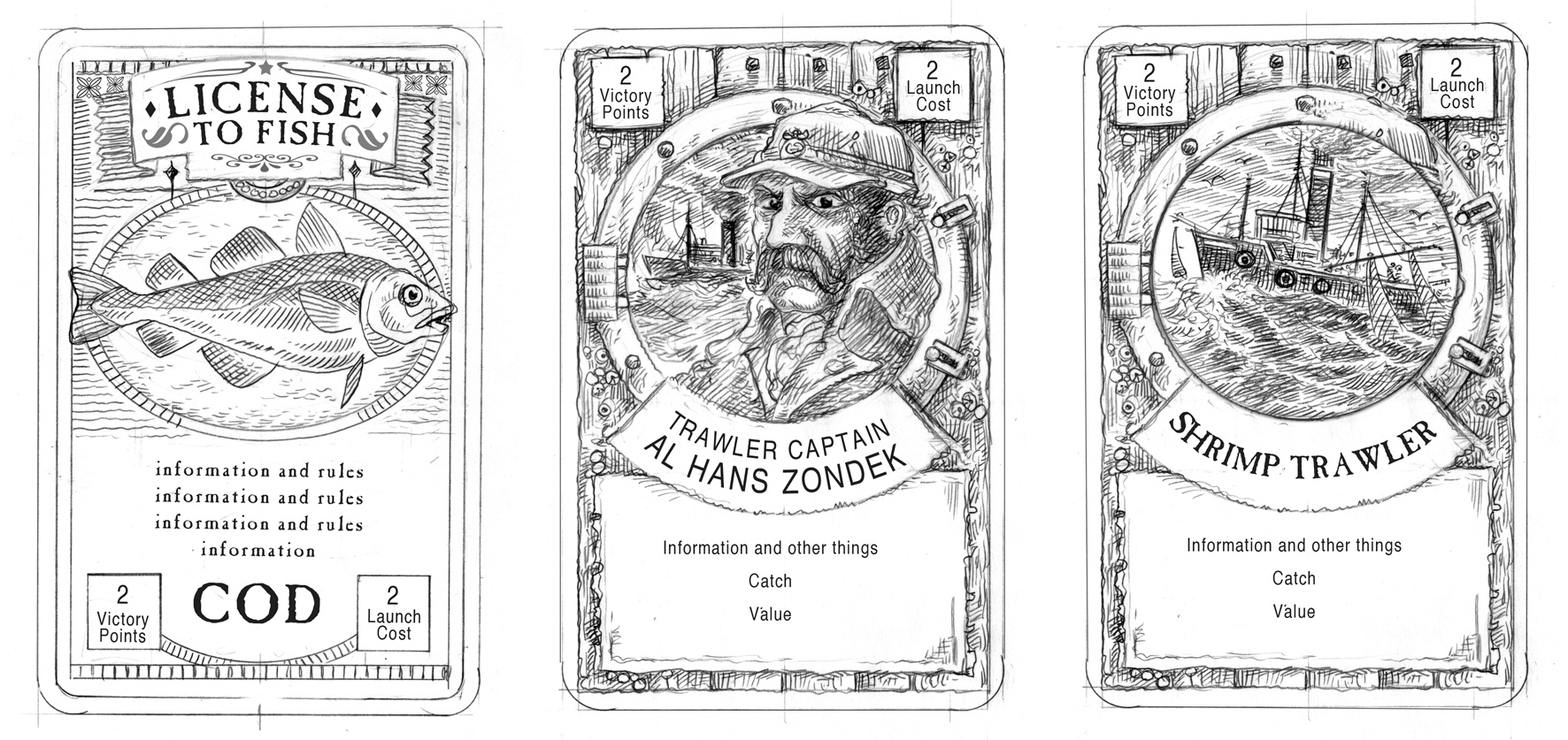 Card game Roughs