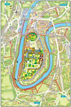 Durham City Map