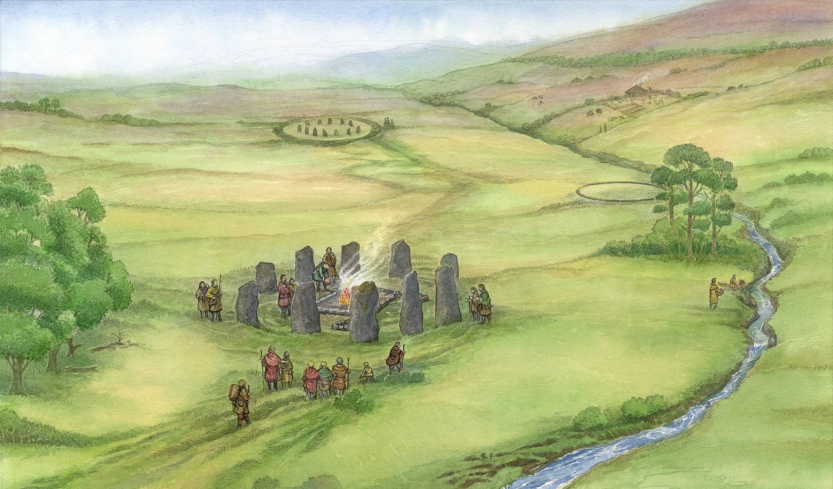 View of Neolithic Fife. ©2016