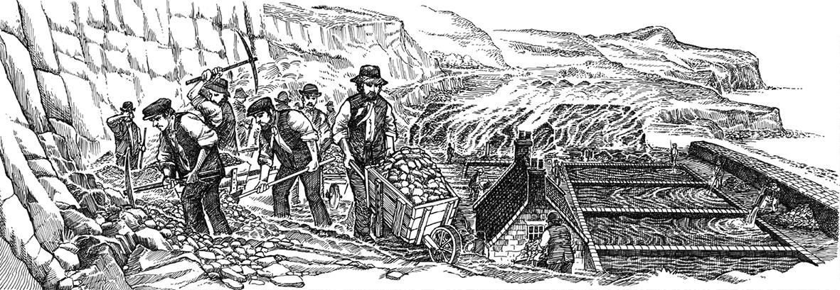 Alum Workers