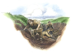 Ring of Brodgar Trench Diggers LR