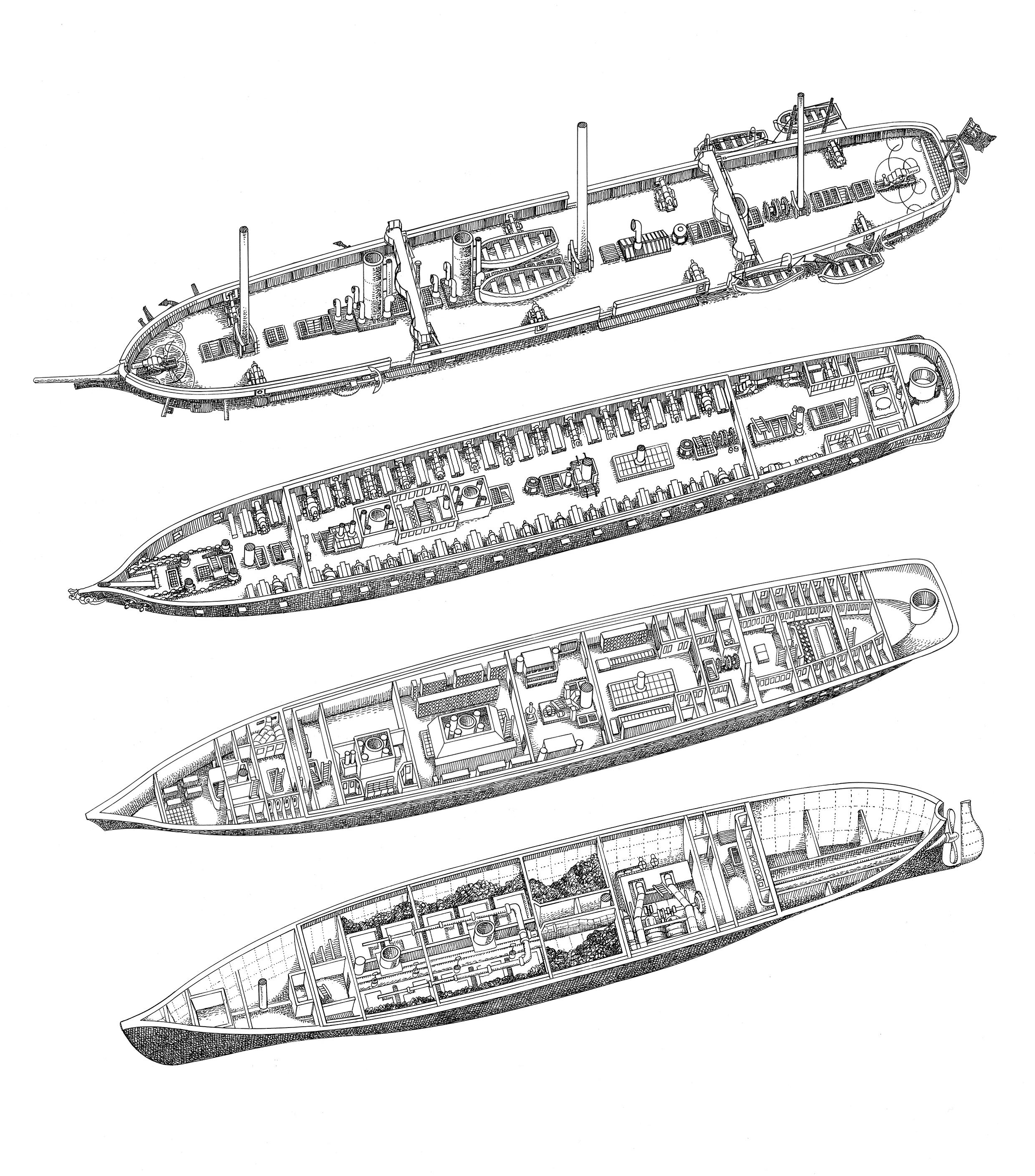 HMS Warrior Deck Plans